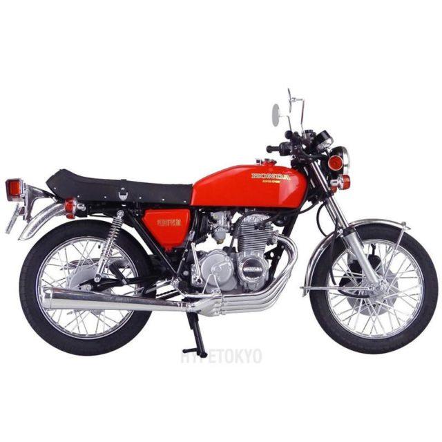 aoshima model motocykla 1-12 honda cb400 four