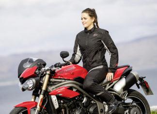 damski ubiór tekstylny na motocykl