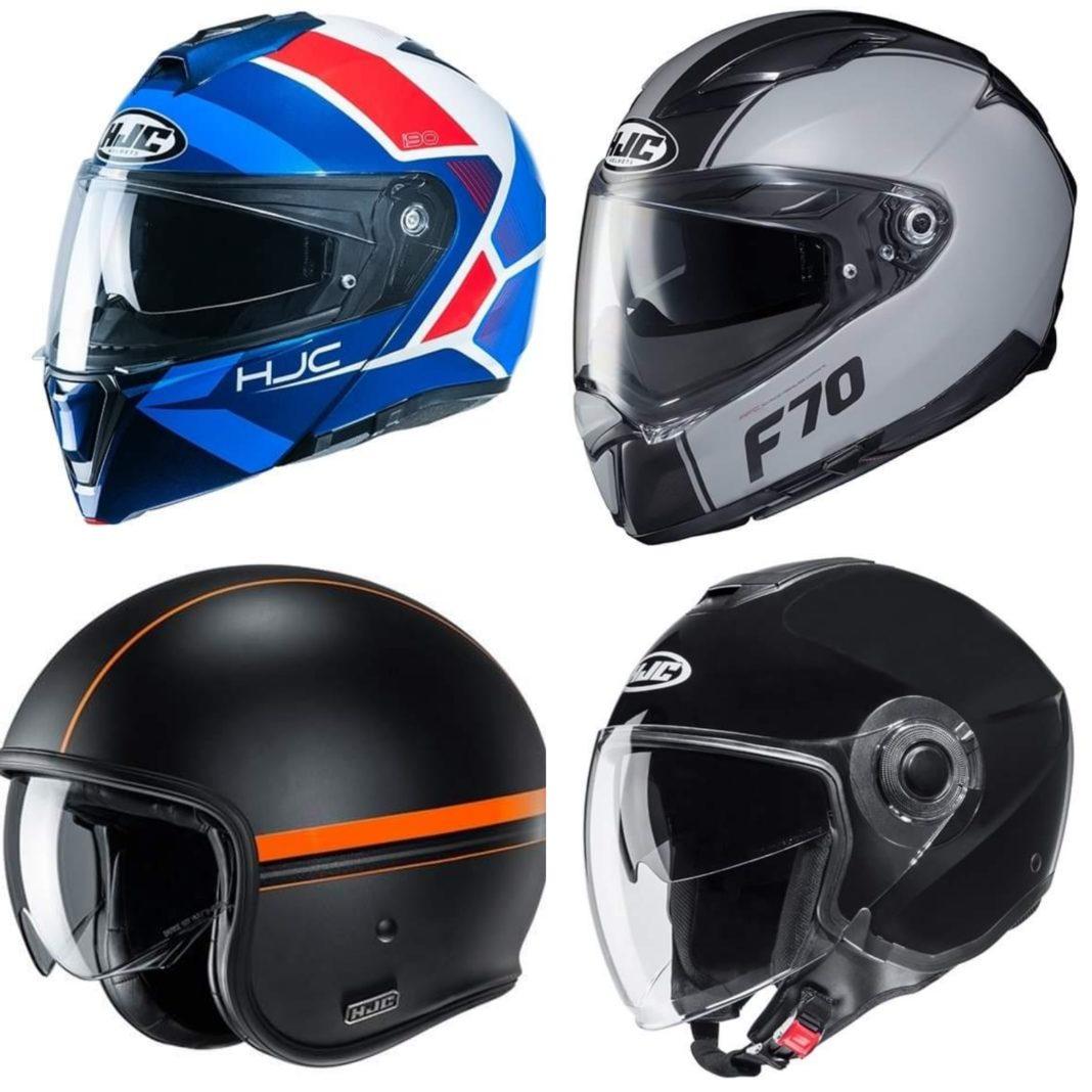 jaki kask HJC na motocykl skuter nowości 2020