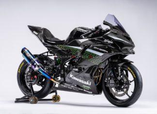 kawasaki zx r torówka race bike dunlop motocykl na tor scaled