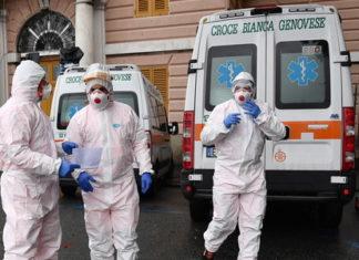 koronawirus covid  włochy michele zasa epidemia pandemia