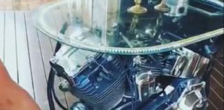 stolik kawowy z silnikiem HD