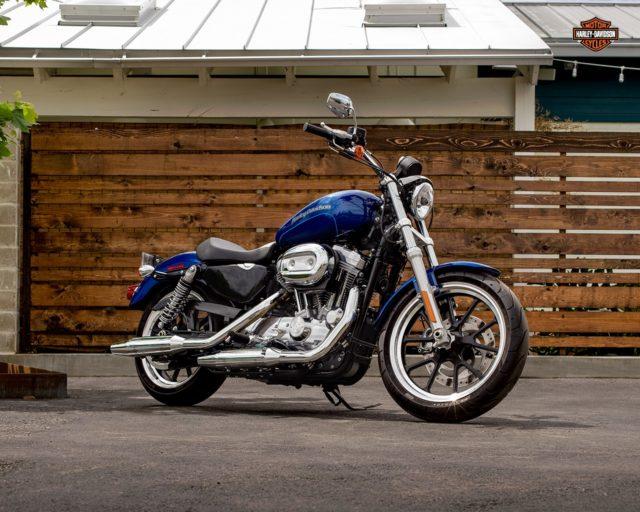 Harley Davidson Superlow 883 motocykl klasyczny retro turystyka adventure 2
