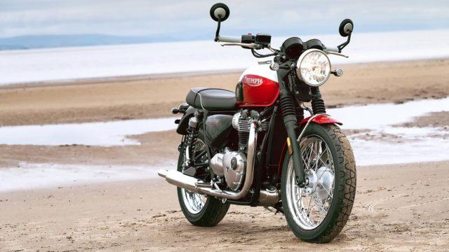 Triumph Boneville motocykl klasyczny turystyk do turystyki adventure