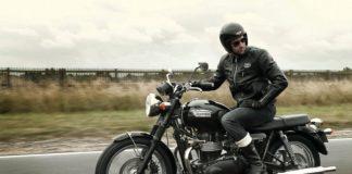 Triumph Bonneville klasyczny retro turystyka adventure sakwy Hepco&Becker do Harleya