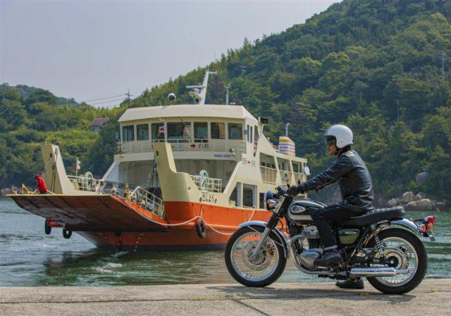 Kawasaki W800 klasyczny retro turystyka adventure