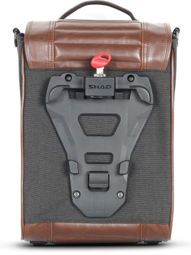 Shad SR38 sakwy do motocykli klasycznych motocyklowe bagaż kluczyk