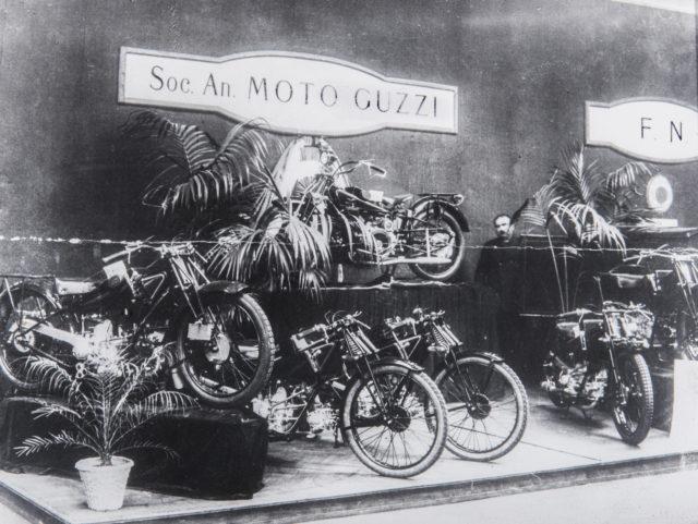 100 lat historii marki Mtoo Guzzi