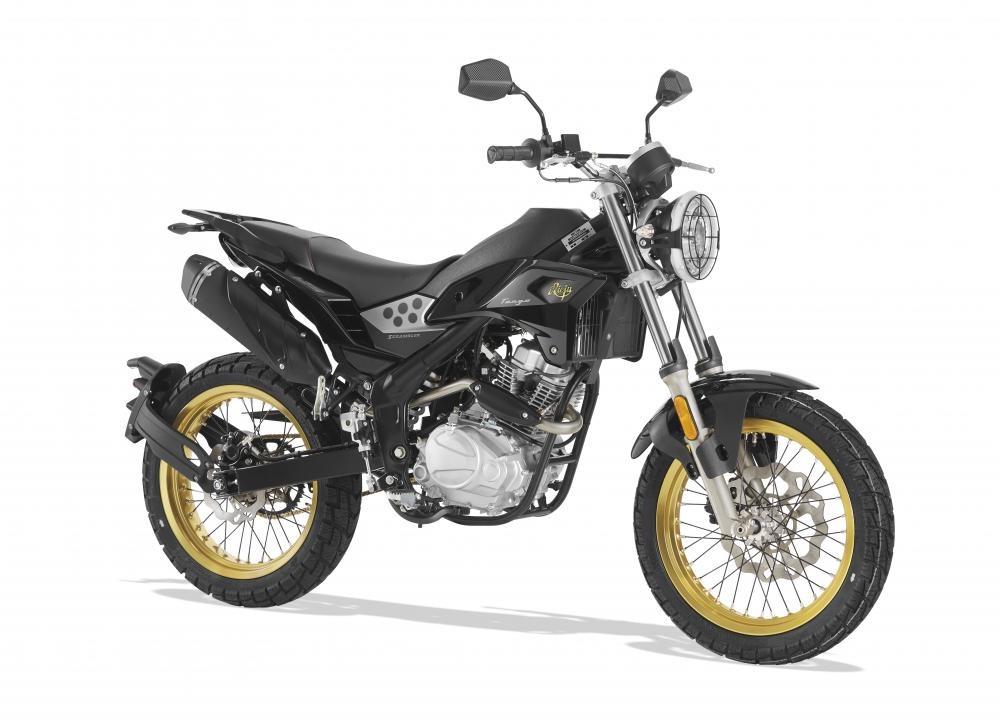 Tango - funbike Rieju 125 mały - scrambler o właściwościach motocykli enduro