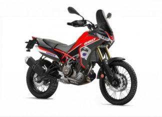 aprilia tuareg  nowy koncept motocykla enduro kostka handbary