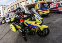 motoambulans karetka pogotowia ratowanie życia motocykl