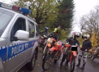 quad cross zakaz wstępu do lasów kontrola policja straż leśna straż parków mandat