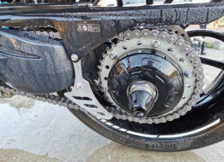 smarowanie lańcucha motocyklowego