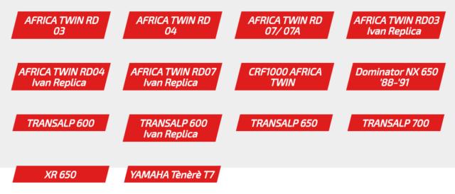 tuning wizualny i offrodowy transalp africa twin xr 650 dominator