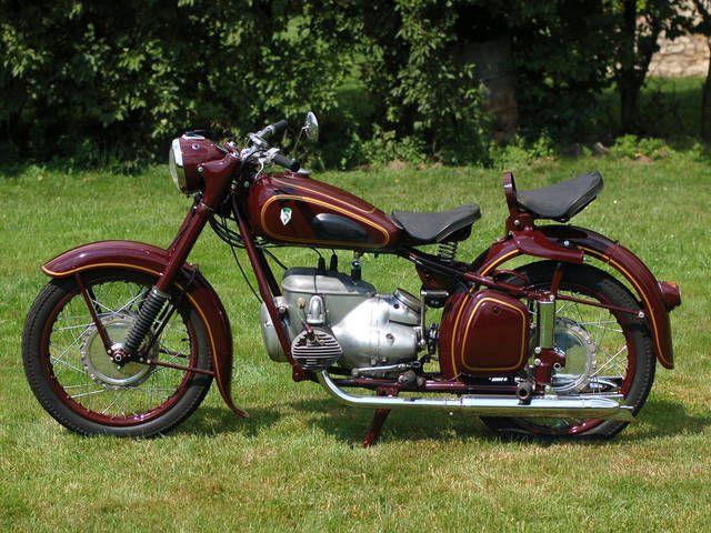 IFA BK350 Motocykl zabytkowy youngtimer oldtimer