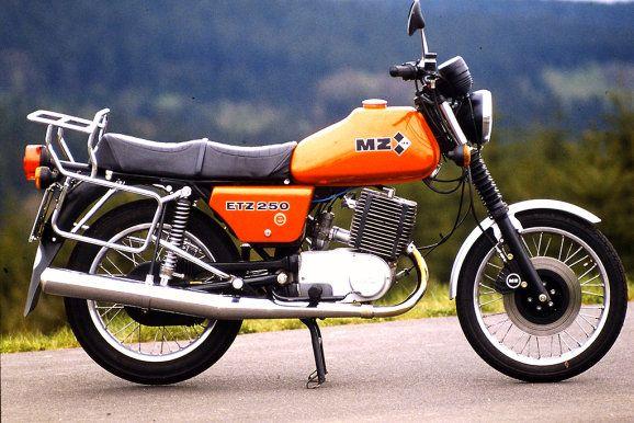 MZ ETZ 250 Motocykl zabytkowy youngtimer oldtimer