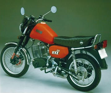 MZ ETZ 251 Motocykl zabytkowy youngtimer oldtimer