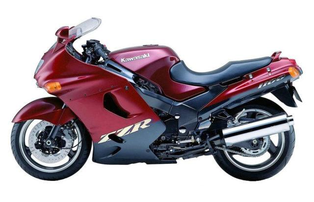ZZR 1100 motocykl kultowy