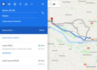 nowy głos map google