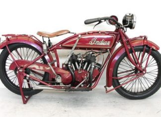 Indian Scout 600 ccm1920 kultowe motocykle