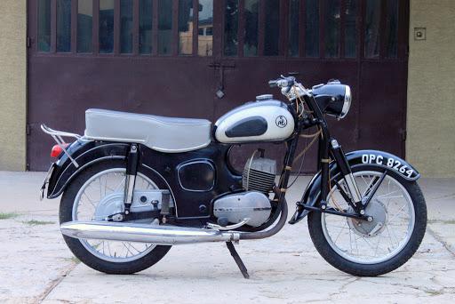 Polski Motocykl SHL M11 Wiatr