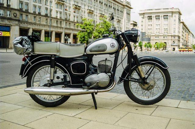 SHL M11 motocykl zabytkowy