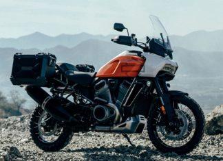 harley davidson pan america hd amerykański motocykl