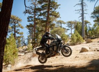 harley davidson pan america offroad amerykański motocykl