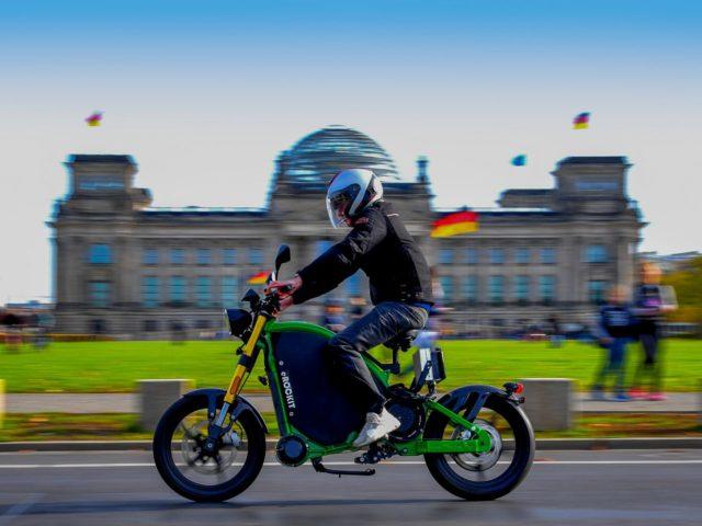 eRockit – idealny rower dla motocyklisty? Nawet 80 km/h !