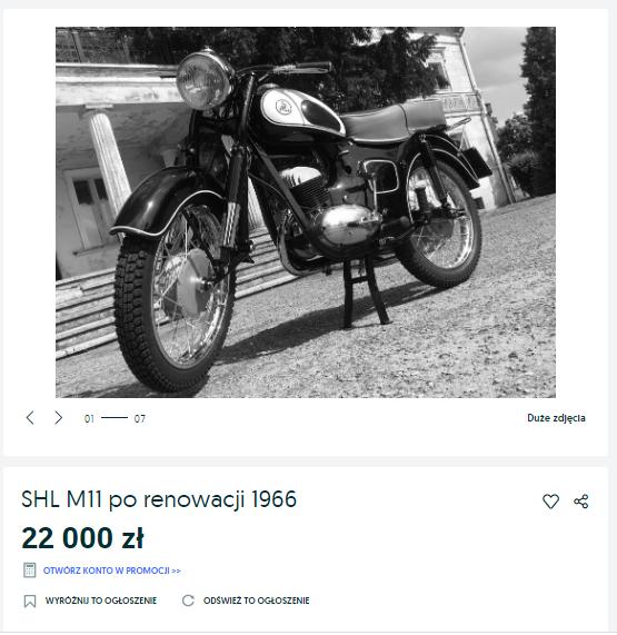 SHL na sprzedaż