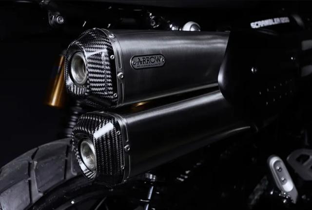 Limitowana edycja – Triumph Scrambler 1200 XE Bond Edition