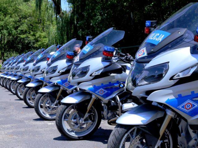 nowe motocykle policyjne