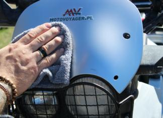 Domowe spa – test kosmetyków motocyklowych S100 – część pierwsza