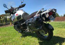 Jakie wodoodporne sakwy motocyklowe opinia wady zalety test Amhibious Motobag II