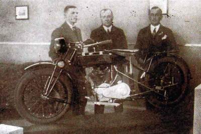 Lech pierwszy polski motocykl