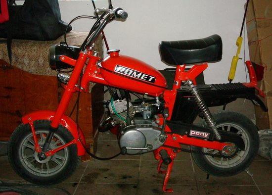 Motorynka Romet Pony 50 M3
