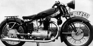 polski motocykl sportowy SM 500