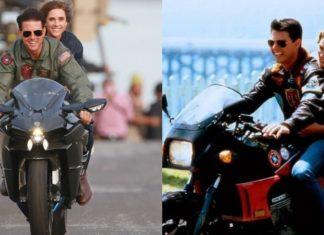 jakim motocyklem jeździ Tom Cruise w Top Gun. Maveric