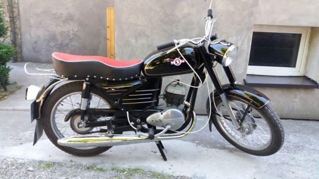 WSK M06 b1 polski motocykl zabytkowy PRL retro vintage