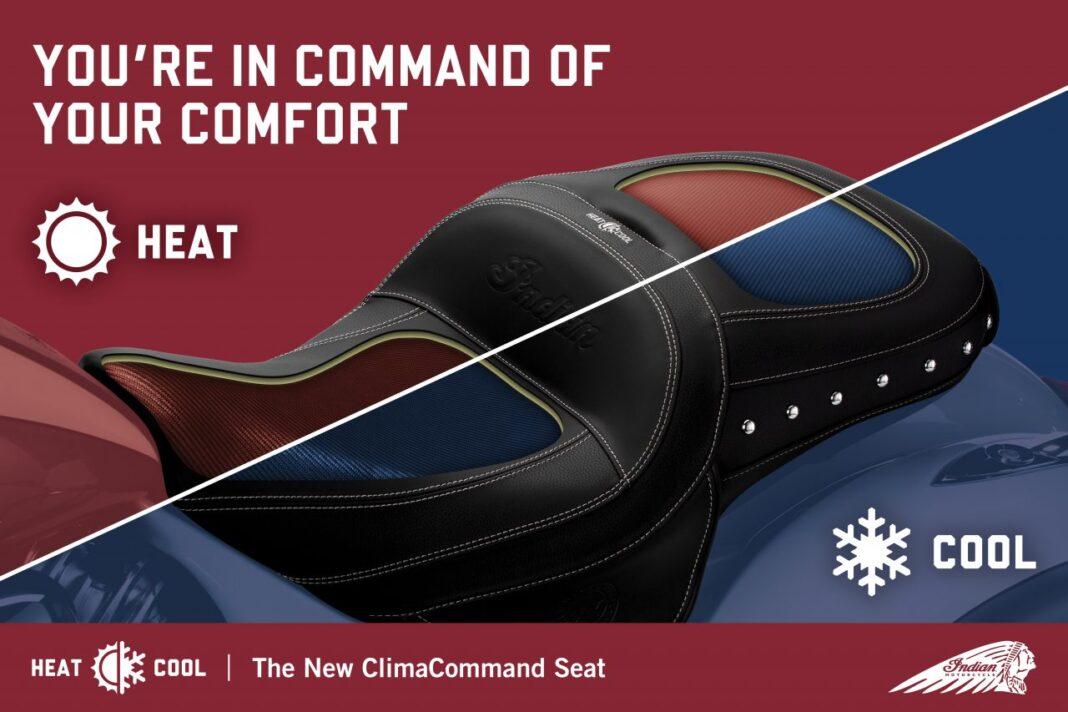 kanapa motocyklowa z klimatyzacją
