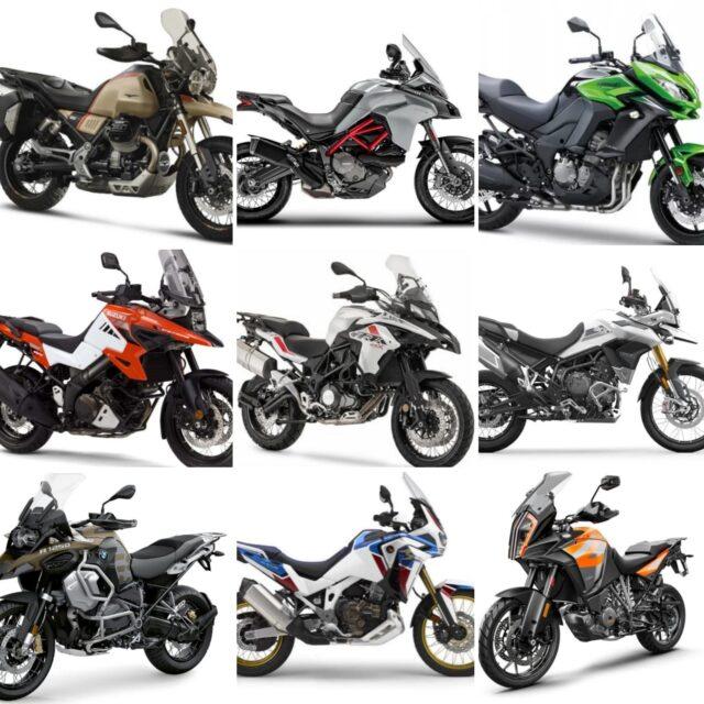 wielkie porównanie motocykli segmentu adventure