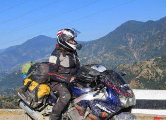RTW Roxy podróże motocyklowe kobieta na motocyklu motocyklistka turystyka motocyklowa