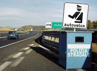 mandat z fotoradaru Włochy