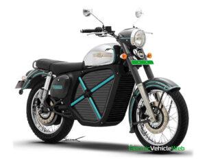 Elektryczna nowa Jawa motocykl elektryczny klasyczny