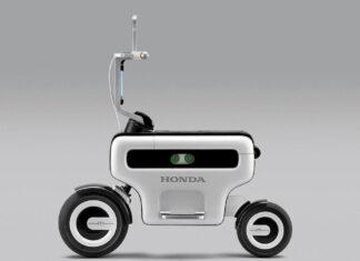 Honda Motor Compo Concept  składany skuter elektryczny
