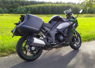 Kawasaki Ninja SX  test opinia dane techniczne wady zalety