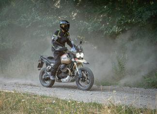 Moto Guzzi VTT test opinia wady zalety dane techniczne