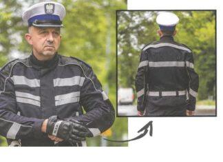 nowe mundury policyjnych motocyklistów