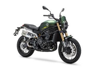 Leoncino  scrambler motocykl terenowy ednuro miejski