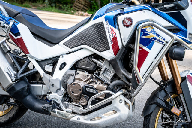 Honda Africa Twin 1100 AS ES DCT 2020 test